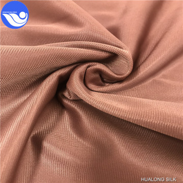 Großhandel Golden Velvet Fabric Tricot Super Poly