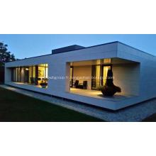 Maison en acier moderne à faible coût de faible épaisseur