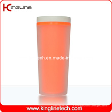 Tampa de camada de camada de plástico de 400ml (KL-5009)