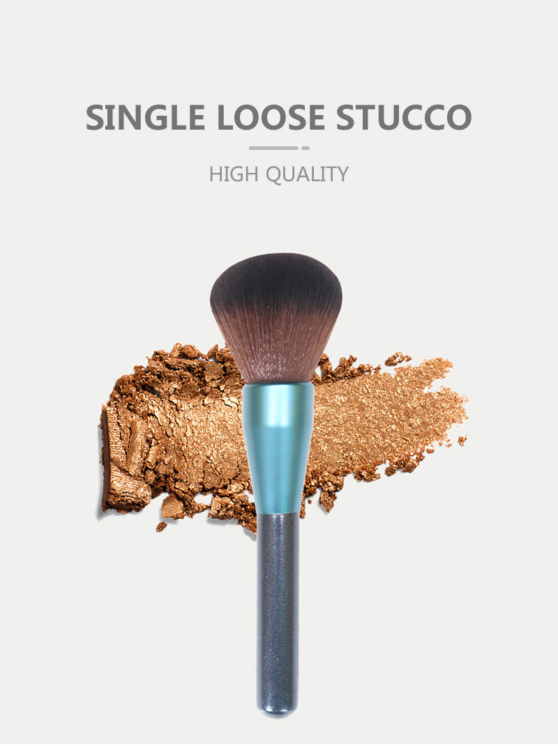 Single Bule Large Powder Brush Kit 1