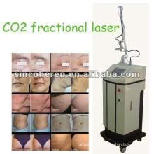 Beijing fraccional CO2 Laser Skin Resurfacing Laser Dispositivos de la piel Equipo terapéutico Cuidado de la piel Equipo de esquí