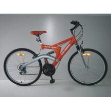 """Bicicleta de montaña con marco de acero de 26 """"(2613)"""