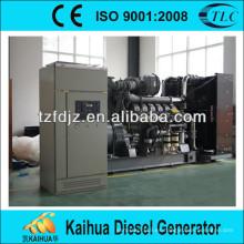 Potencia del grupo electrógeno 800KW diesel por motor original Perkins 4008TAG2A