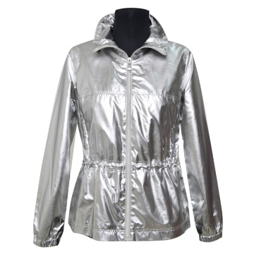 LADIES JACKE SHINY EFFECT