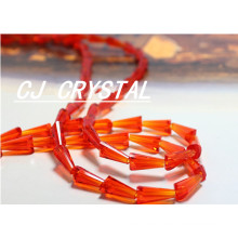 Crystal beads tower shape wholesale for lampwork decorating