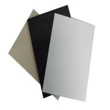 Industrielle schwarze weiße pp. Plastikblatt