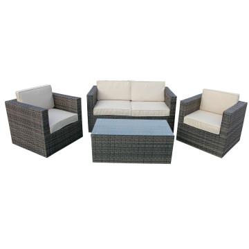 Ensemble de meubles de canapé en conserve en inox
