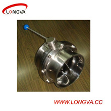 316 Stainless Steel Clamp Butterfly Valve