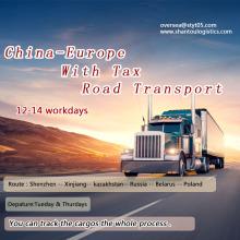 Быстрый автомобильный транспорт из Шэньчжэня в Европу