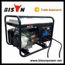 BISON China Zhejiang 6KW 100% cobre Nuevo conjunto de generadores de soldadura de Filipinas