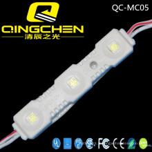3 LED 5050 Module LED à injection arrière avec haute luminosité et imperméable à l'eau