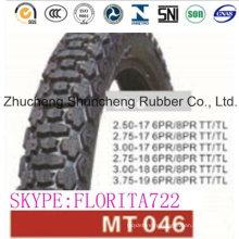 Moto Cross pneu (3,75-19 2,50-17 3.00-17 2,75-18 3.00-18)
