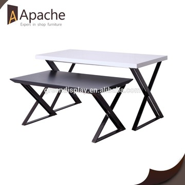 clothing table top/garment table top/display table