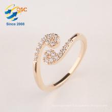 Avec boîte-cadeau bijoux en argent douze constellations anneau de fabrication de cancer