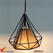 Промышленная подвесная лампа ручной работы из металла