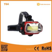 T04 COB alta potência LED farol com lâmpada LED brilhante
