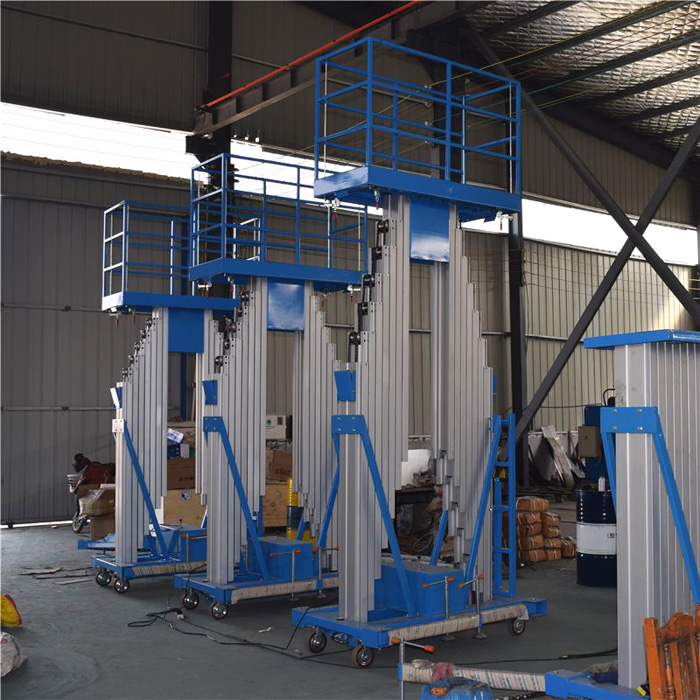 aluminum alloy hydraulic lifts