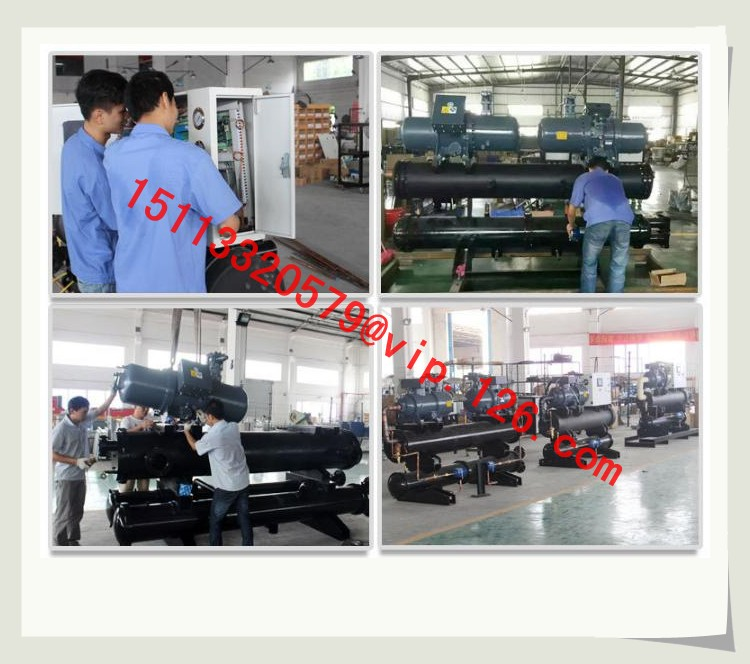 Single Screw Chiller Production Process