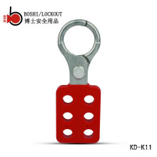 """BOSHI BD-K11 Aluminum Lockout Hasp with 6 holes, lockout tagout shackle 25mm(1"""")"""