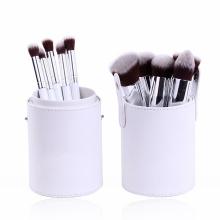 Brosse de maquillage pour voyage en cheveux synthétique 10 pièces (TOOL-193)