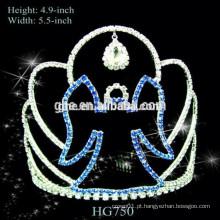 Fábrica de performance de temporada completa diretamente colar de coroa de princesa