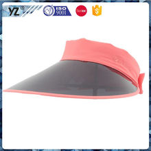 Latest product special design fashion cheap plastic visor cap with good price