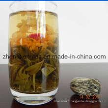 Thé fleurissant (Qi Xing Ban Yue)