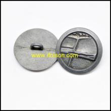 Кнопка металлическая хвостовик для пальто