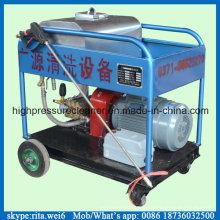 Superfície limpa 300bar alta pressão água máquina de limpeza industrial