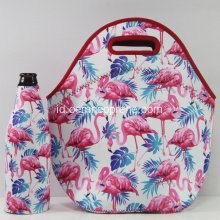 Pendingin Neoprene Lunch Bag Full Printing