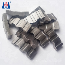 Very sharp beton core bit segment