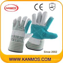 Ab Grado cuero de vaca Split cuero guantes de trabajo de seguridad (110142)