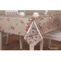 Wedding Party PVC Gold Tablecloth Embossed Table Cloth