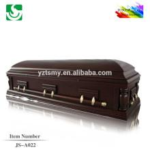 Meilleure vente de cercueil en gros en bois sélectionné gérer