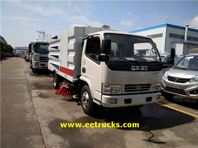 3T Road Washing & Sweeping Trucks