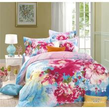 Luxury Mercerized Cotton Bedding Set Duvet Cover With Zipper