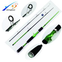 CTR008 china venda quente produto equipamento de pesca varas isca haste de fundição 3 pc casting vara de pesca