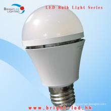 CE, RoHS 600lumen E27 SMD LED Bulbs Light