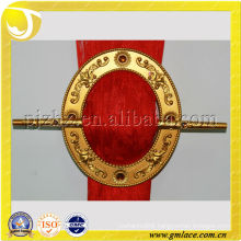roundness plastic curtain buckle