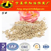 Suprimento profissional Exportador Grão de milho para grão de areia para vidro e máquina