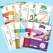 Customized Private Label Foot peeling Moisturizing Natural Exfoliating Foot Mask