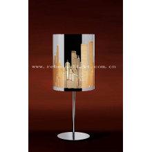 Hotel interior lámpara de mesa de acero inoxidable