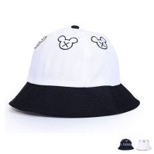 Moda Bordado Algodão Twill Leisure Bucket Hat (YKY3205)