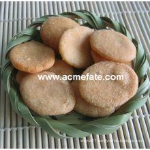 Hot New product corn snacks food korean round rice cracker