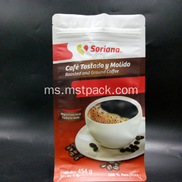 Kotak Pouch Flat Bottom Coffee Bag