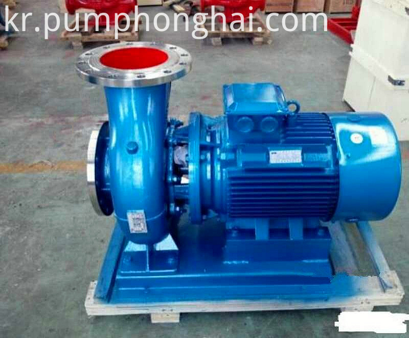 horizontal shaft water pump