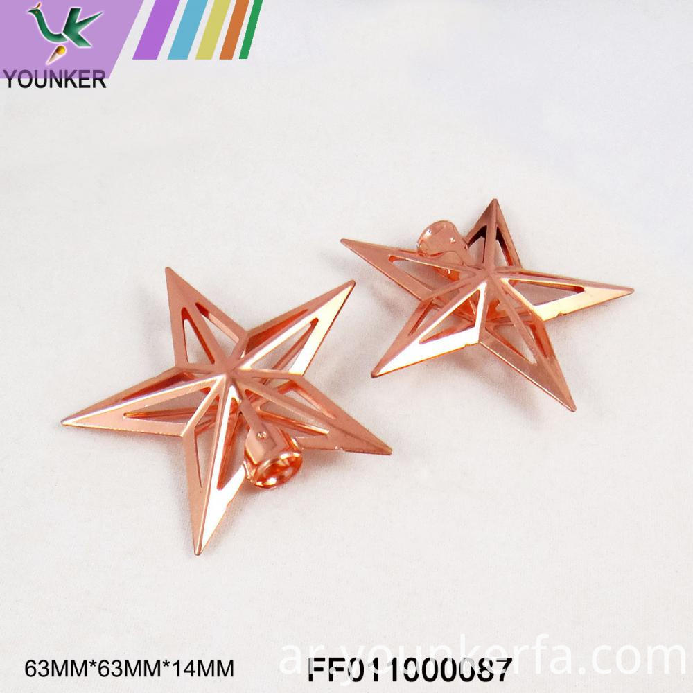 Star Metal Ornaments