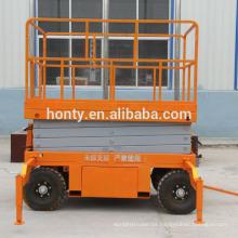 Mobile Manual Hydraulic Scissor Lift Table Trolley