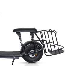 Suzhou dynavolt 2 wheel citycoco electric scooter with golf bag rack