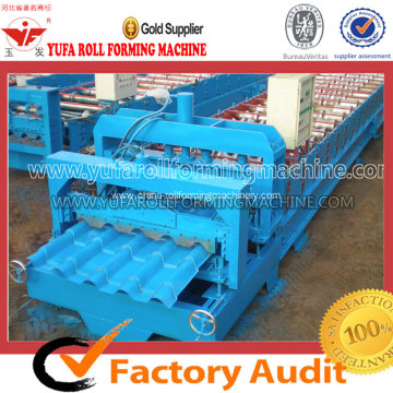 Step Tile Forming Machine For Making Steel Roofing Sheet
